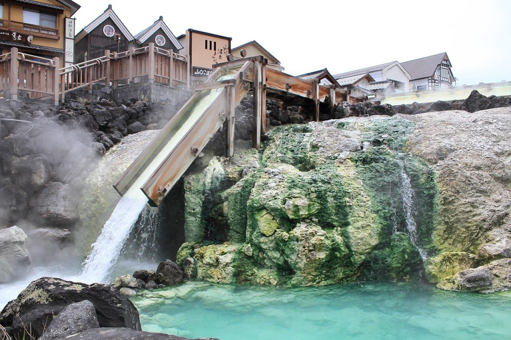 Kusatsu Onsen – Take It All In At Yubatake