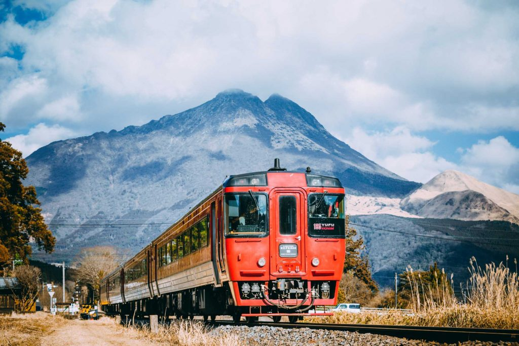 Yufuin Onsen Train How to get there