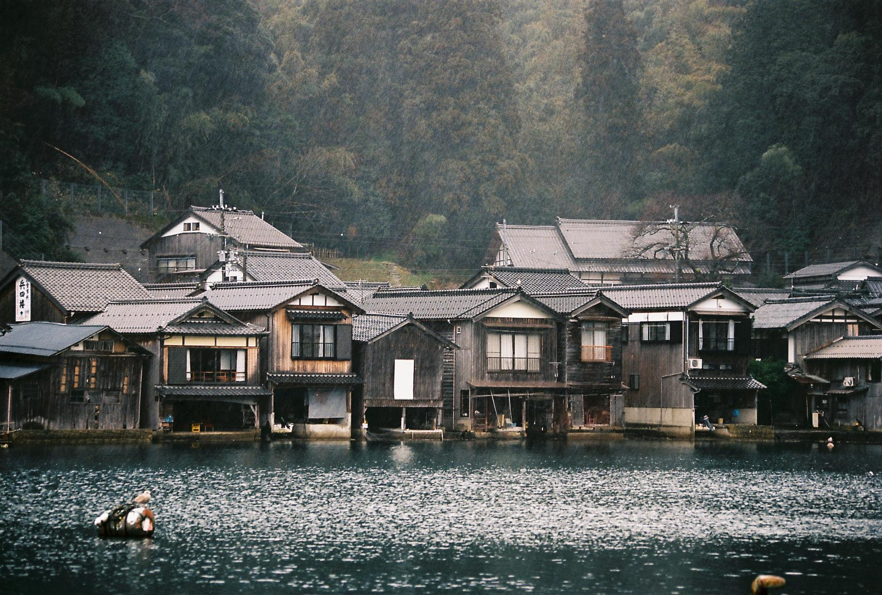 Ine Japan FIshing Village Old House