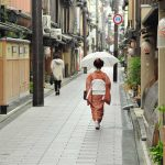 What is a Geisha - Walking in Kyoto streets