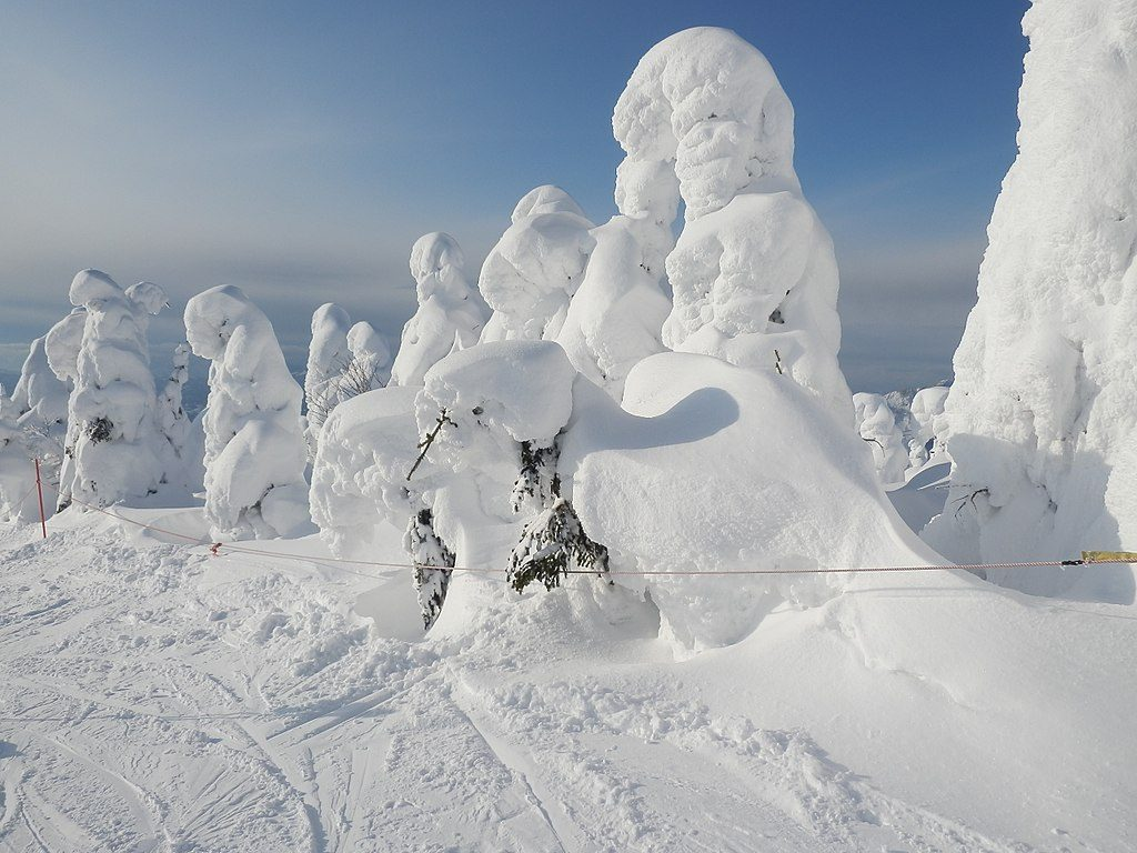 Zao Onsen – Witness the Snow Monsters ('Juhyo') 1