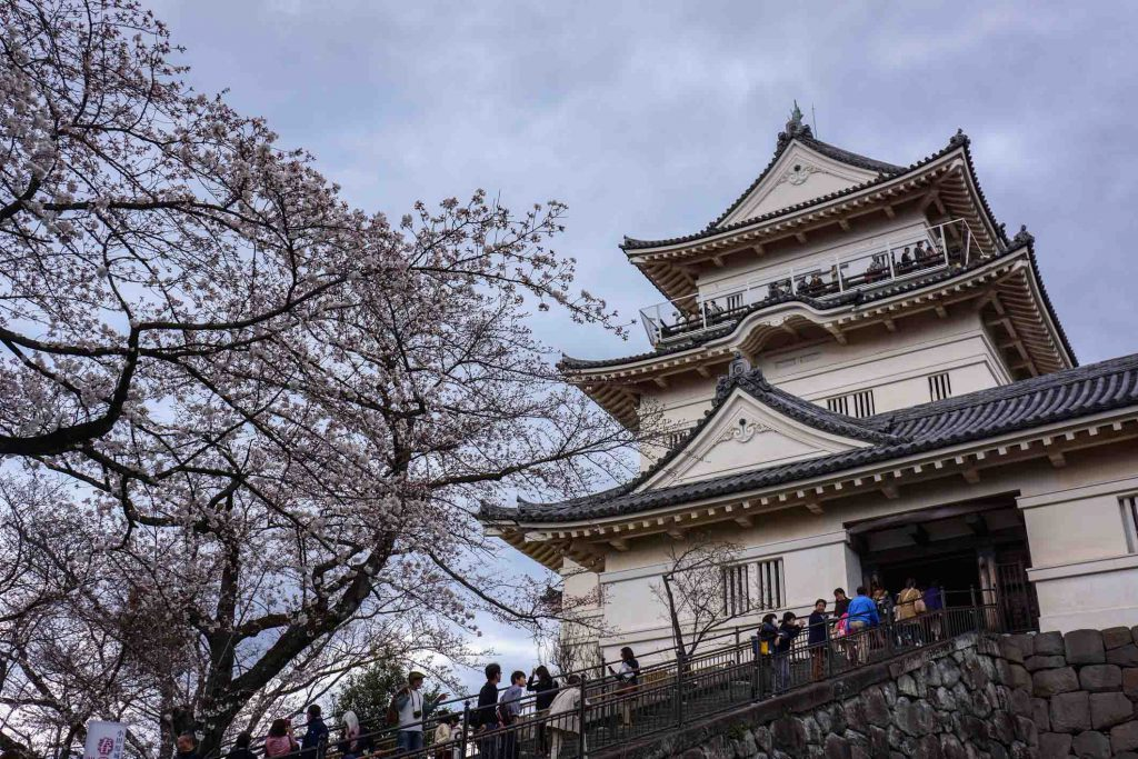 Best Castles in Japan Odawara Castle 1