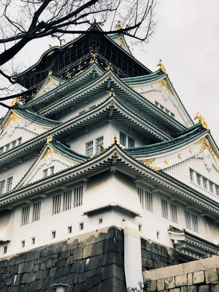 Best Castles in Japan Osaka Castle 1