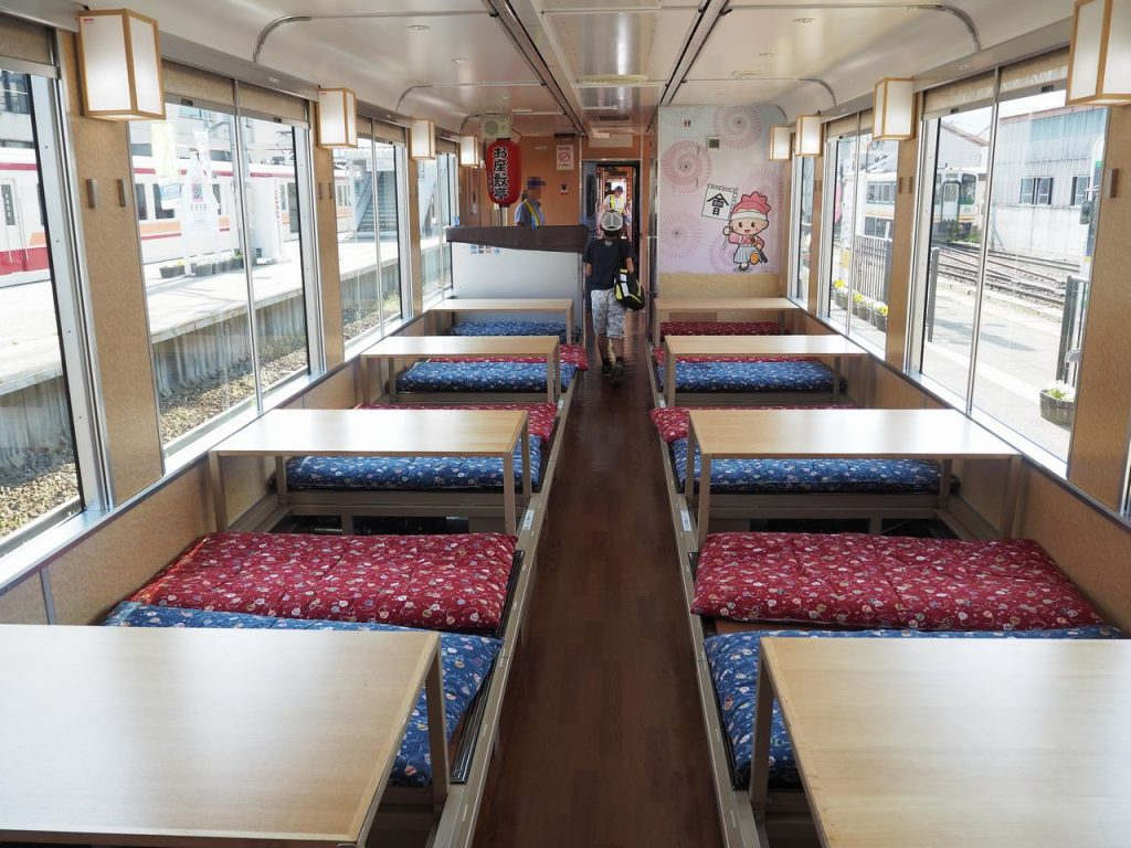 Ozashiki Train Tatami Seats