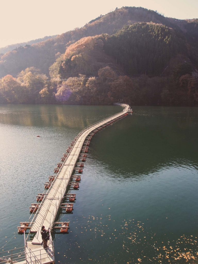 Things to do in Okutama Japan #3 - Relax at Lake Okutama