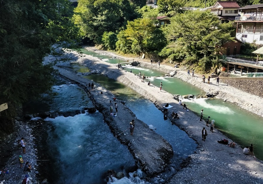 Things to do in Okutama Japan #6 - Hikawa International Trout Fishing Spot