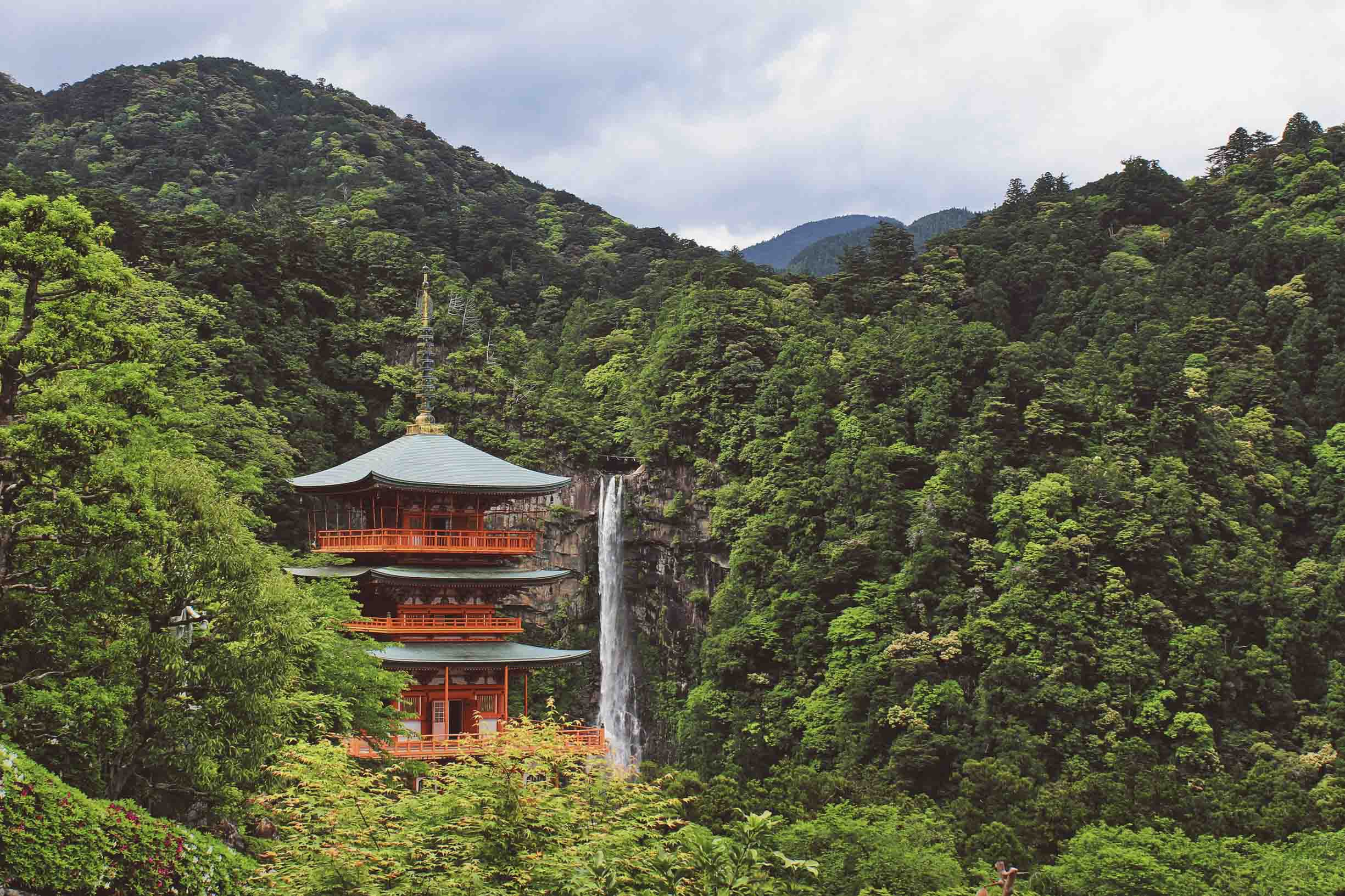 Nachi Falls Probably One Of The Most Beautiful Places In Japan