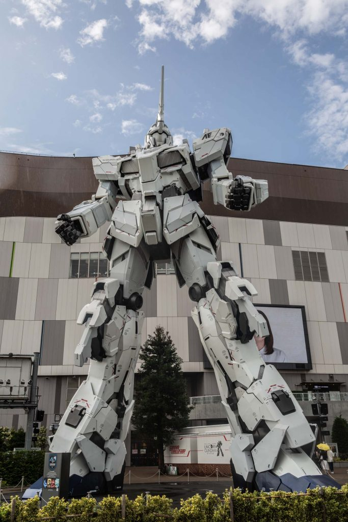 Most Instagrammable Places in Tokyo Gundam Robot Odaiba 2