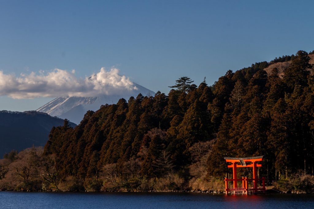 Mount Fuji Viewpoint Hakone Shrine