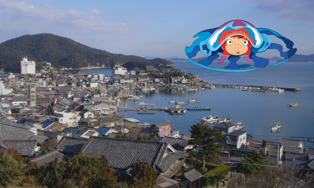 Tomonoura Japan - The Port That Inspired the Ghibli Anime Ponyo on the Cliff
