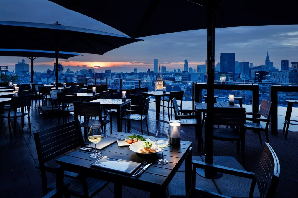 Best Rooftop Bars In Tokyo - Two Rooms Grill & Bar 1