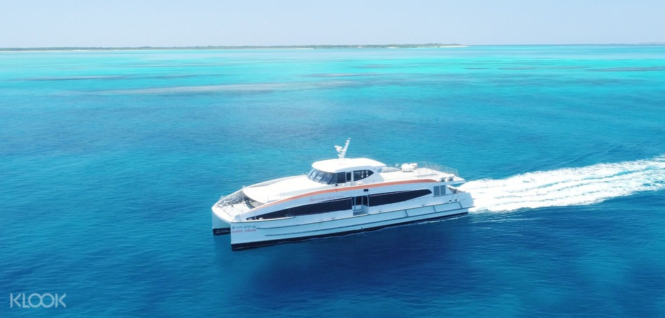 How to ge to Taketomi Island Boat