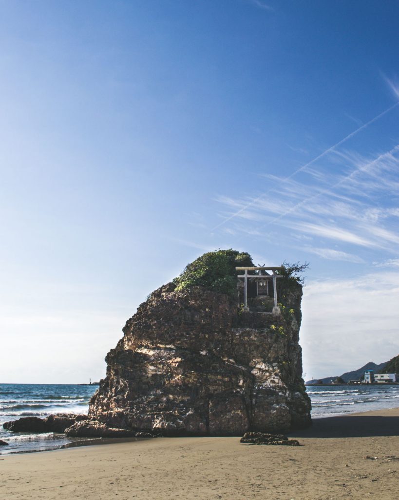 Inasa Beach and Bentenjima Shrine