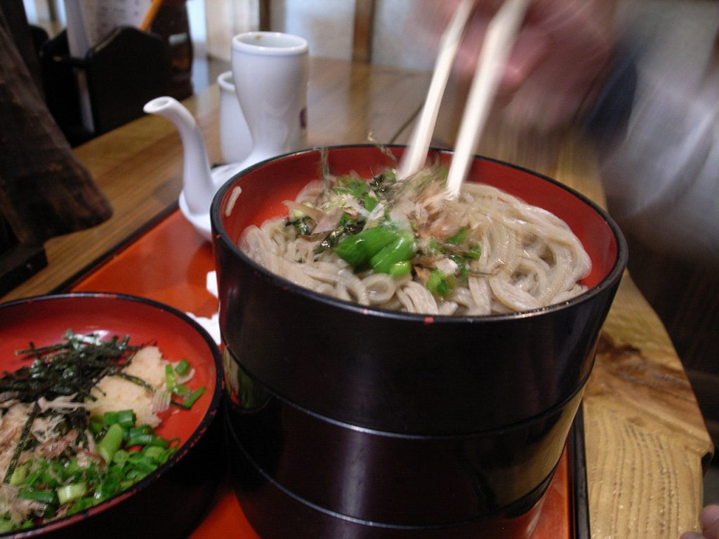 Try Warigo Soba, a Unique Local Dish
