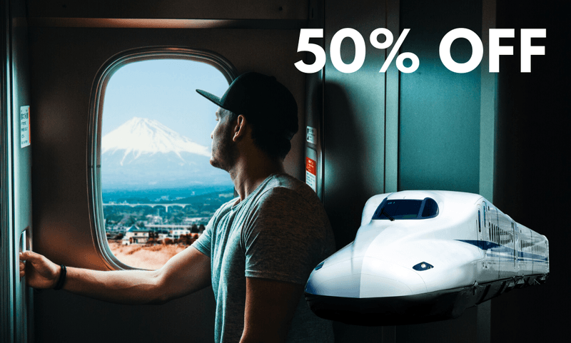 JR East Shinkansen Train Tickets Slashed by 50% until March 2021 1