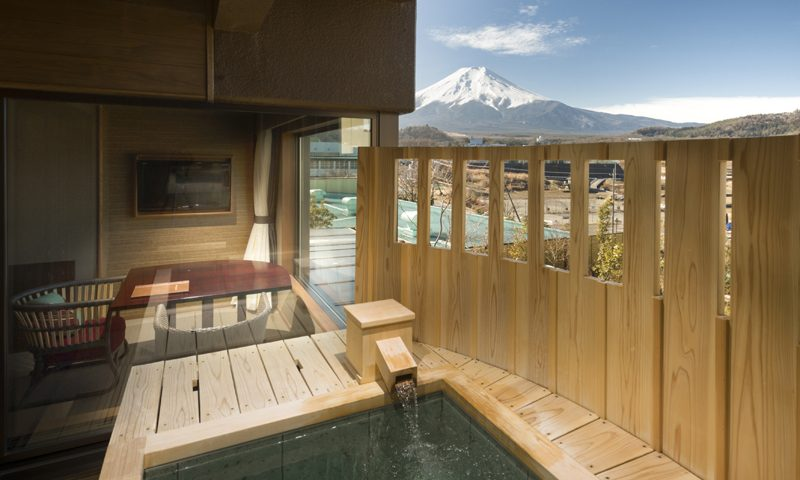 Mt Fuji Ryokan with Private Onsen - Bessho Sasa Hotel 3