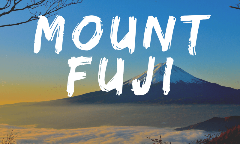 Best Places To Visit In Japan - Mount Fuji