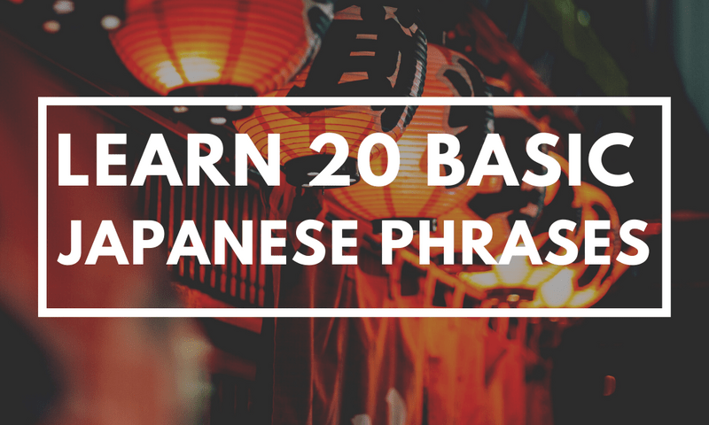 20 Japanese Phrases You Should Know When You Travel To Japan