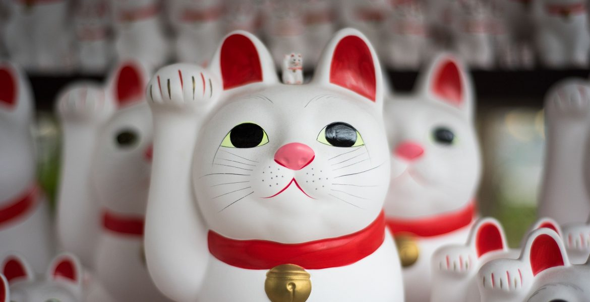 Maneki Neko Shop Gotokuji