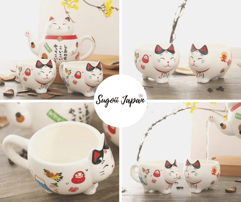 Maneki Neko Shop - Tea Set