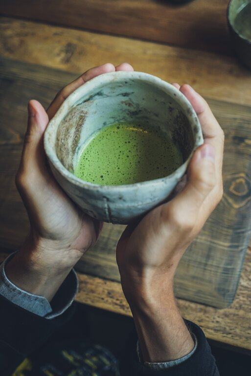 Healthy Japanese Food Matcha Green Tea