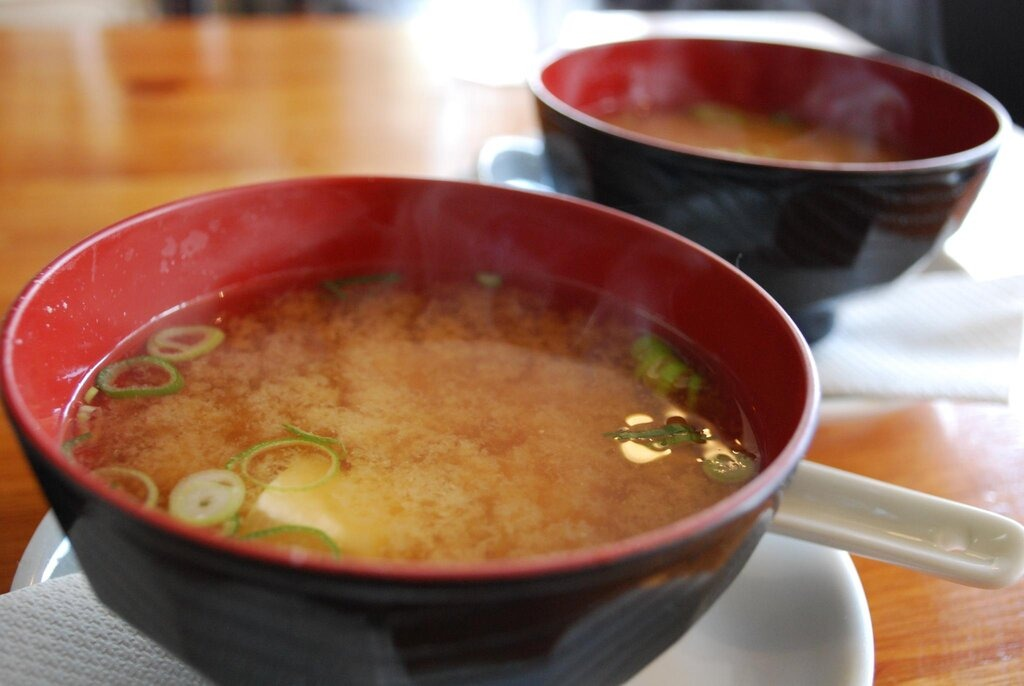 Healthy Japanese Food - Miso Soup