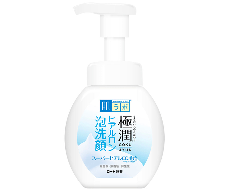 Japanese Face Washes - Hada Labo Foaming Cleanser