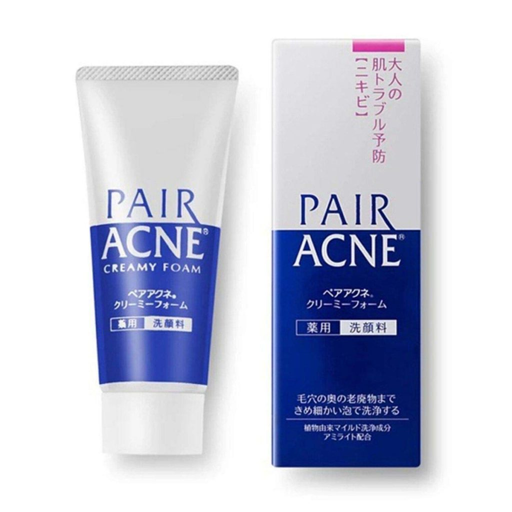 Japanese Face Washes - Pair Acne Creamy Foam Face Cleanser