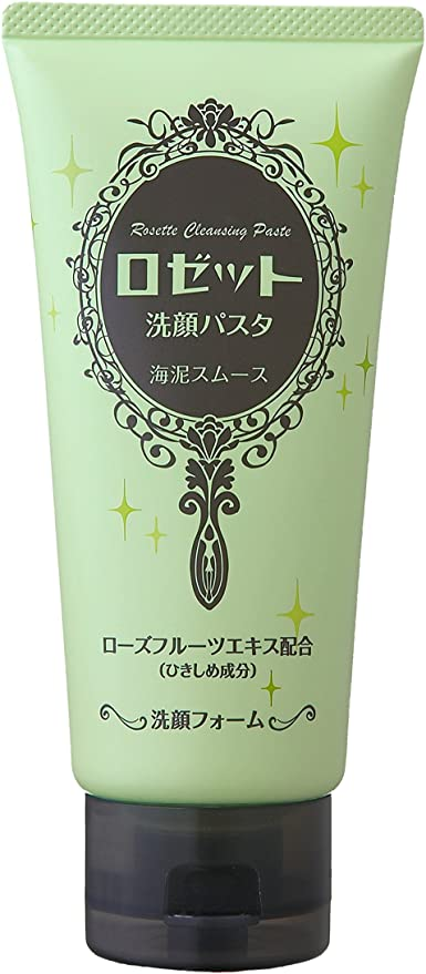 Japanese Face Washes - Rosette Cleansing Paste - Sea Mud Smooth